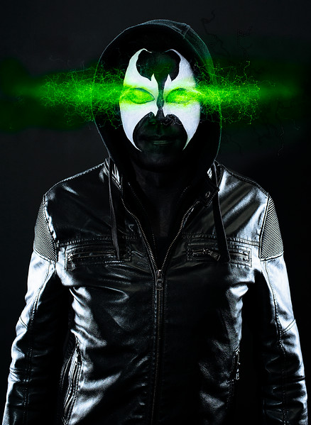 "Mike McKellar as ""Spawn"""