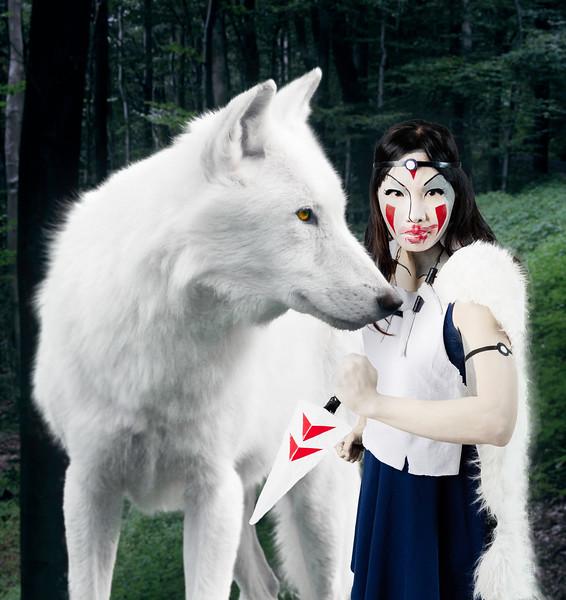 Sheryl as Princess Mononoke
