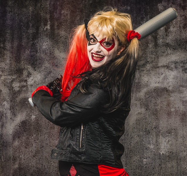 "Shannon as ""Harley Quinn"""