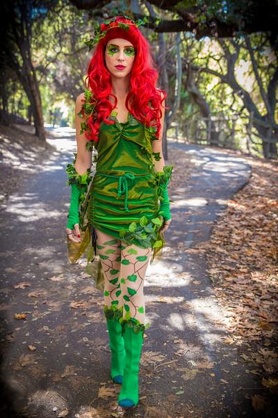 "Rachel Martin as ""Poison Ivy"""