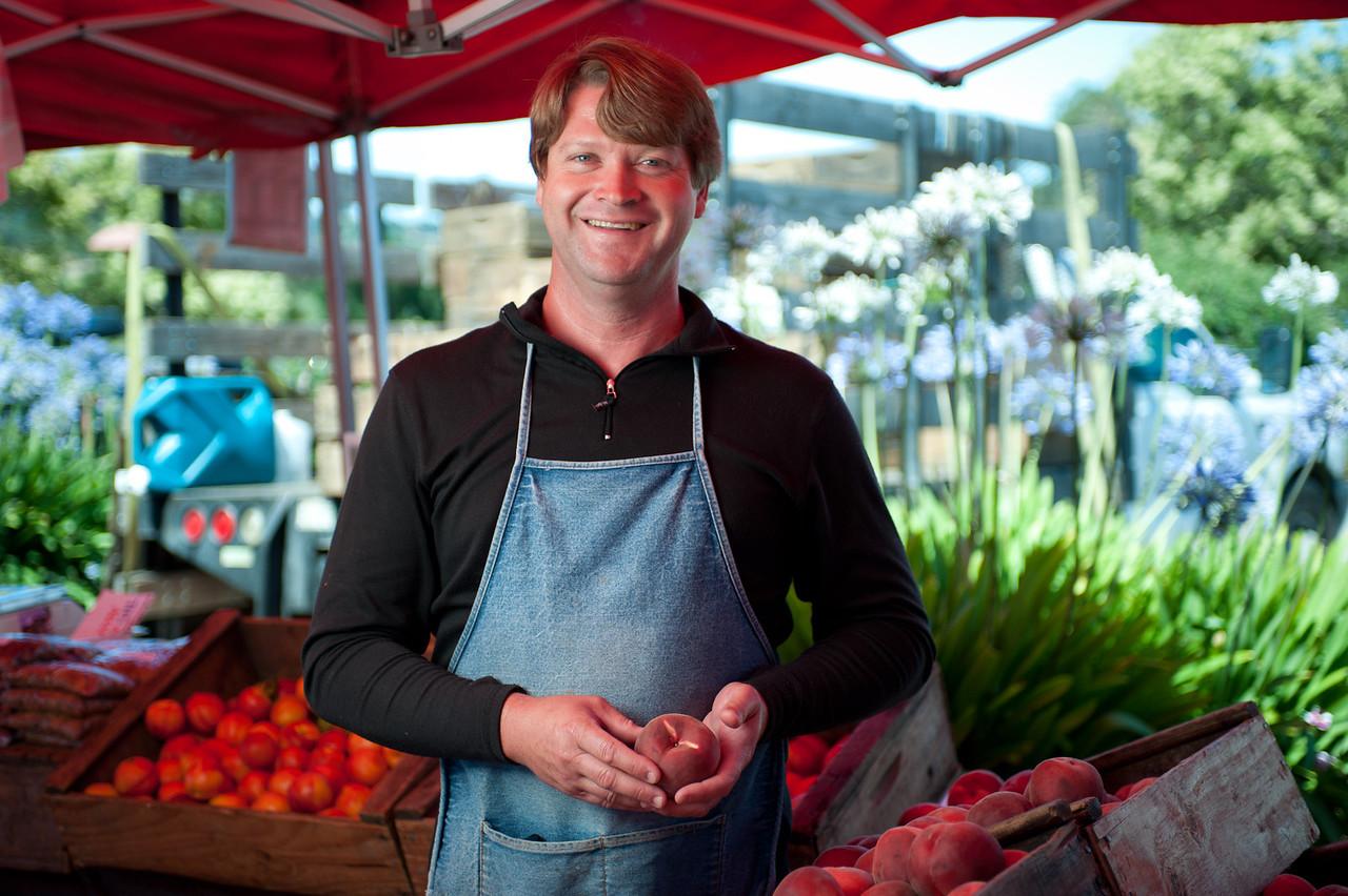 """Eric Schletewitz of Schletewitz Family Farm in Sanger.<br /> <br /> <br /> <a href=""""http://tinyurl.com/schletewitz-farm"""">http://tinyurl.com/schletewitz-farm</a>"""