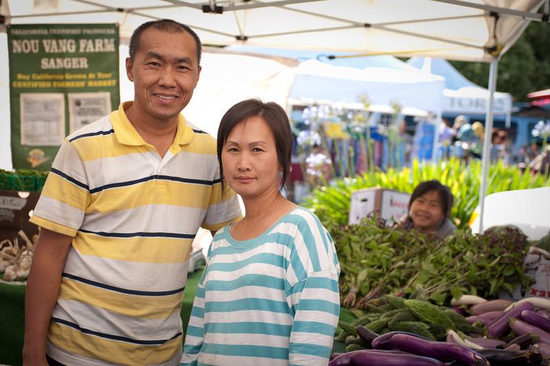 Saysana Yang and Melody Yang of Nuo Vang Farm in Sanger.