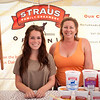 "Malena Lechon and Wendy Booth of Straus Family Creamery in Marshall on Tomales Bay.<br /> <br />  <a href=""http://www.strausfamilycreamery.com"">http://www.strausfamilycreamery.com</a>"