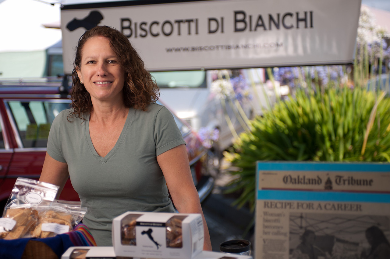 """Victoria Bianchi of Biscotti di Bianchi in San Rafael.<br /> <br /> <a href=""""http://www.biscottibianchi.com/"""">http://www.biscottibianchi.com/</a>"""