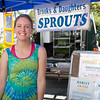 "Geneva Brooks of Brooks and Daughters Sprouts in Forestville.<br /> <br /> <a href=""http://tinyurl.com/brooks-sprouts"">http://tinyurl.com/brooks-sprouts</a>"