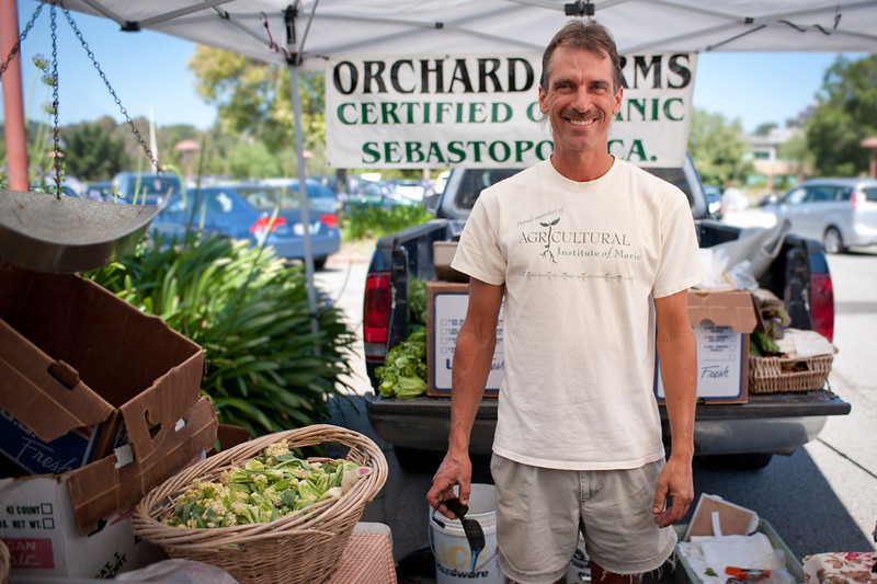 "Ken Orchard of Orchard Farms in Sebastapol.<br /> <br />  <a href=""http://www.orchard-farms.com"">http://www.orchard-farms.com</a>"