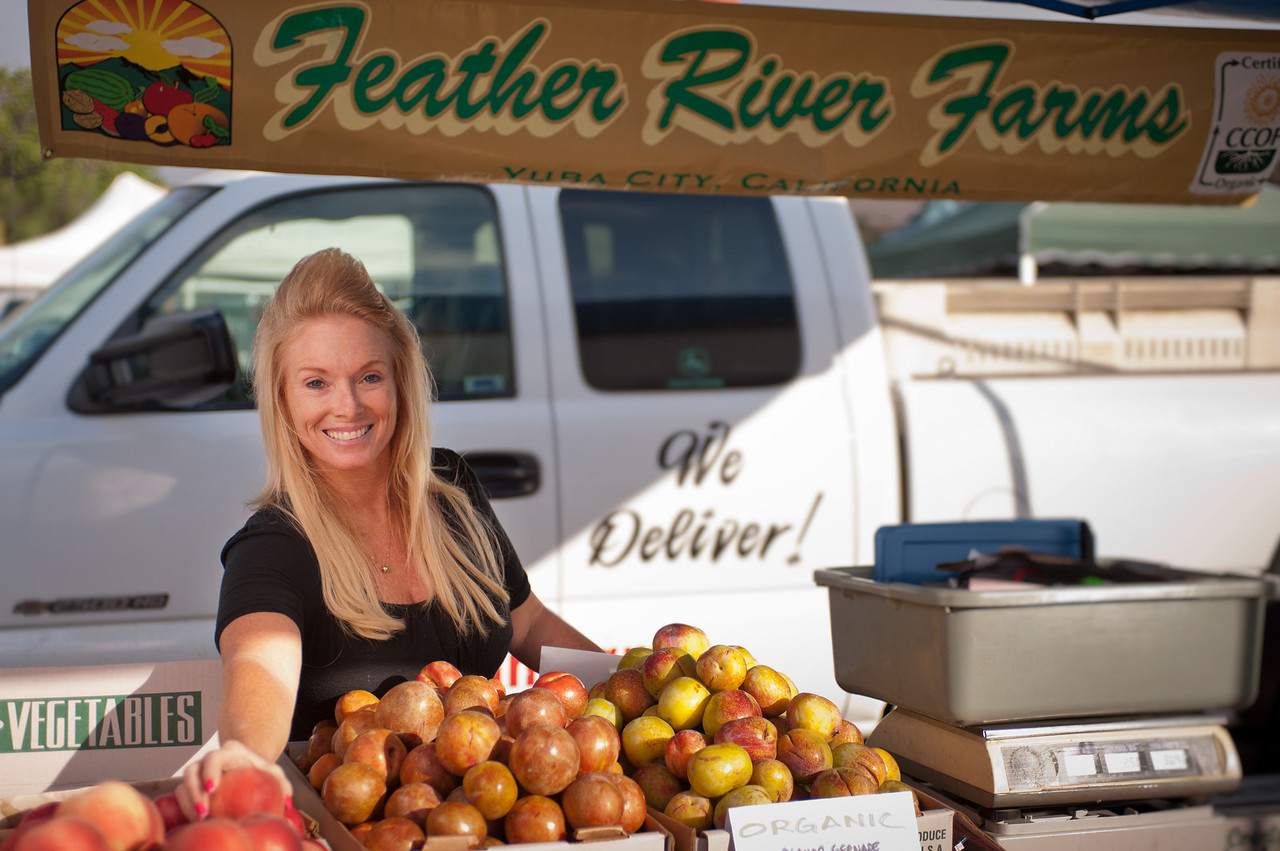 Tara Payton of Feather River Farms in Yuba City.