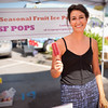 "Rebecca Rouas of Seasonal Fruit Ice Pops in Larkspur.<br /> <br /> <a href=""http://tinyurl.com/sf-icepops"">http://tinyurl.com/sf-icepops</a><br /> and<br /> <a href=""http://twitter.com/sficepops"">http://twitter.com/sficepops</a>"