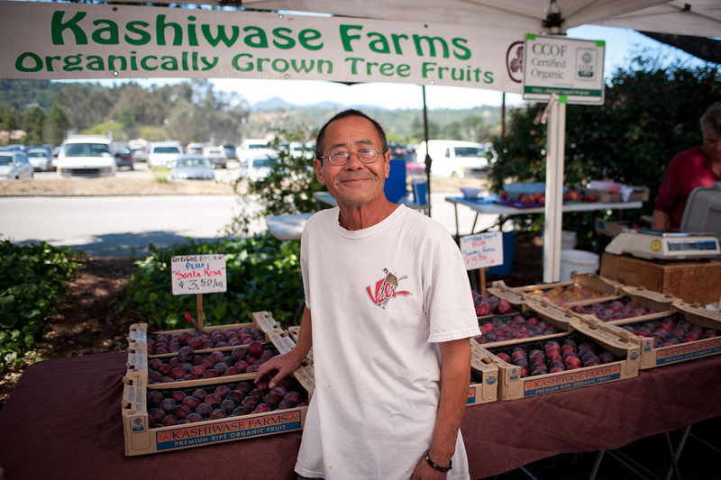 "Artie Flores of Kashiwase Farms in Winton.<br /> <br /> <a href=""http://tinyurl.com/kashiwase"">http://tinyurl.com/kashiwase</a><br /> and<br /> <a href=""http://twitter.com/KashiwaseFarm"">http://twitter.com/KashiwaseFarm</a>"