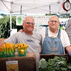 Jim Eldon and Laury Porter of Fiddler's Green Farm in Brooks.