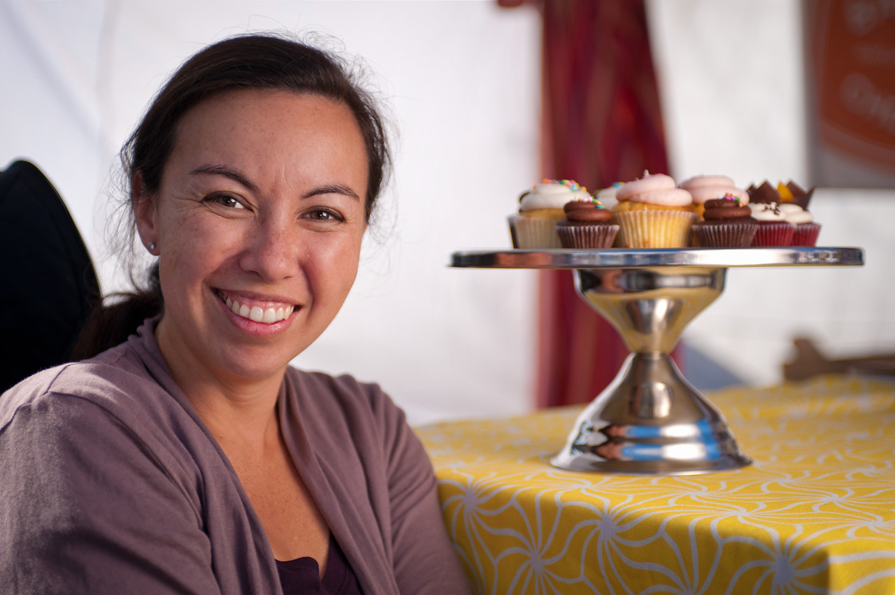 "Michelle Lane of Teeny Cake in Corte Madera.<br /> <br /> <a href=""http://www.teenycake.com"">http://www.teenycake.com</a>"