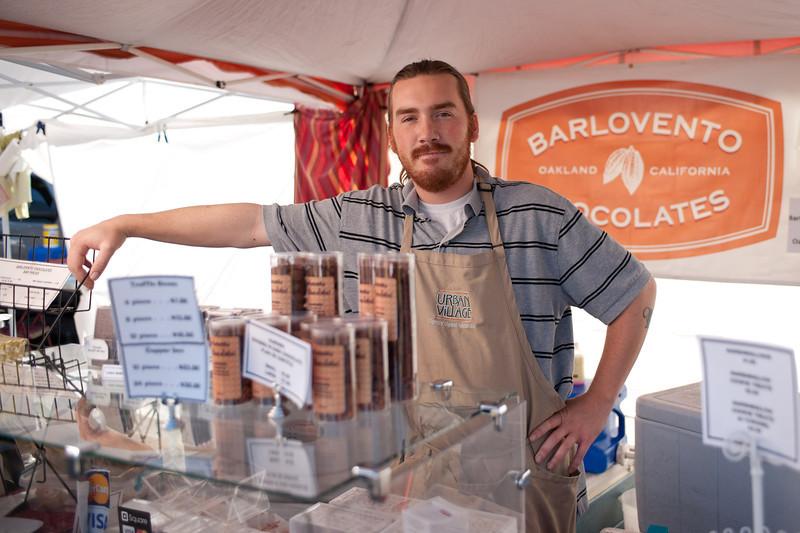 "Cody Brydon of Barlovento Chocolates in Oakland.<br /> <br />  <a href=""http://www.barloventochocolates.com"">http://www.barloventochocolates.com</a>"