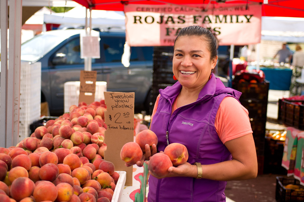 Sonia Rojas of Rojas Family Farms in Manteca.