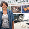 """Dawn Dolcini of Tully Dolci Organic Farm in Petaluma.<br /> <br /> <a href=""""http://www.localharvest.org/tully-dolci-organic-farm-M27745"""">http://www.localharvest.org/tully-dolci-organic-farm-M27745</a>"""