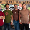 "Cliff Pollard, JR Silva, Doug Stonebreaker, and Caleb Ontiveros of Prather Ranch Meat Company in San Francisco.<br /> <br />  <a href=""http://www.prmeatco.com"">http://www.prmeatco.com</a>"