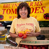 "Eva Bruins of Bruins Vegetables in Winters.<br /> <br /> <br /> <a href=""http://tinyurl.com/bruins-vegetables"">http://tinyurl.com/bruins-vegetables</a>"