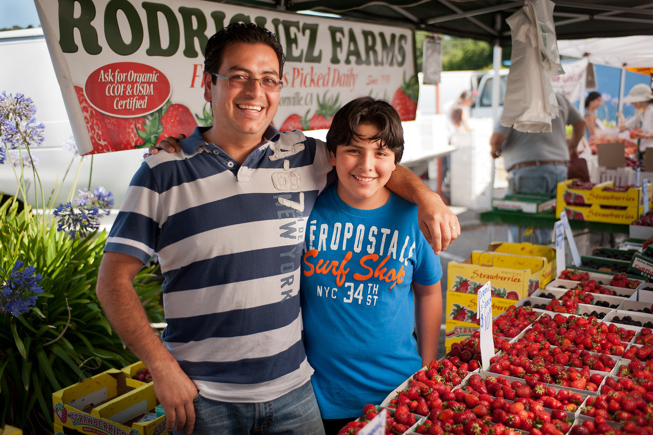 "Gonzalo Rodriguez and his son of Rodriguez Farms in Castroville.<br /> <br /> <br /> <a href=""http://www.yelp.com/biz/rodriguez-farms-castroville"">http://www.yelp.com/biz/rodriguez-farms-castroville</a>"