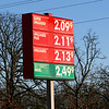 "Dan and I headed to southwest Missouri to do some cave herping adnd stopped outside of Lebanon to get some gas.  We asked the woman who ran the gas station and these prices are legit (though confusingly backwards).  When asked: ""we charge what we pay when the gas comes in"".  They've obviously got a different approch to selling gas than the rest of the country."