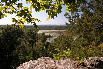 Overlooking LaRue-Pine Hills