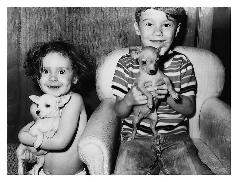 Darla Jesse and dogs