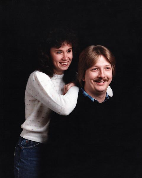Darla and Paul abt 1984