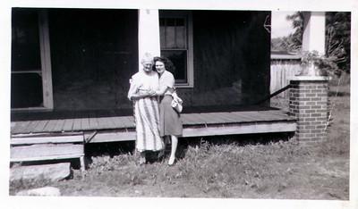 Fannie and her grandma Matt