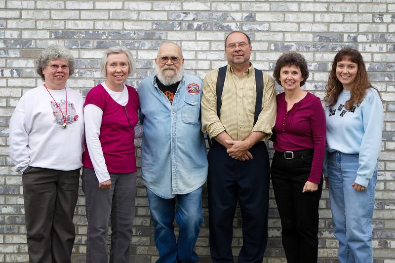 Vicky, Kathy, Herb, Jesse, Darla, Lisa 2012