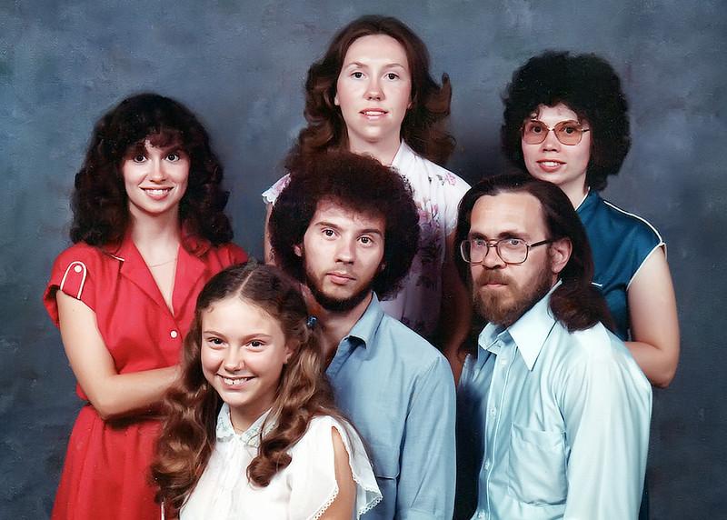Darla, Kathy, Vicky, Lisa, Jesse, Herb 1982