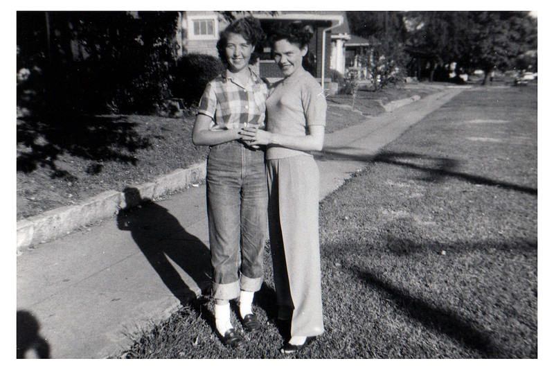 Betty Jean and Fannie Fredrick C 1956