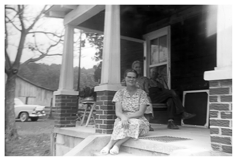 Nellie Maddox (daughter of Dora Fredrick Maddox (sister of Gill Fredrick) and Emmitt Maddox-also pictured)