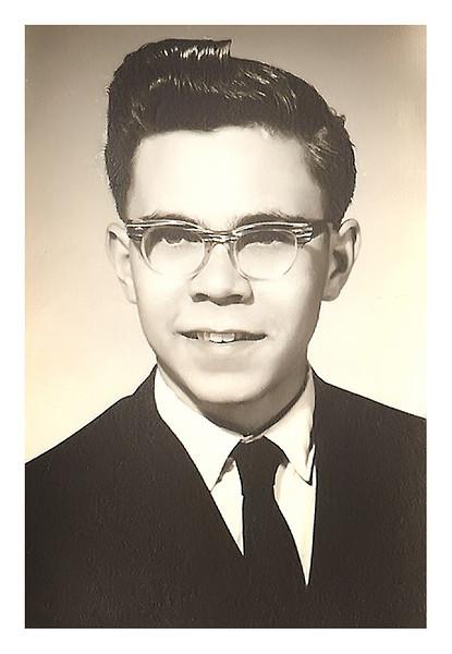 Herbert Leo HS graduation