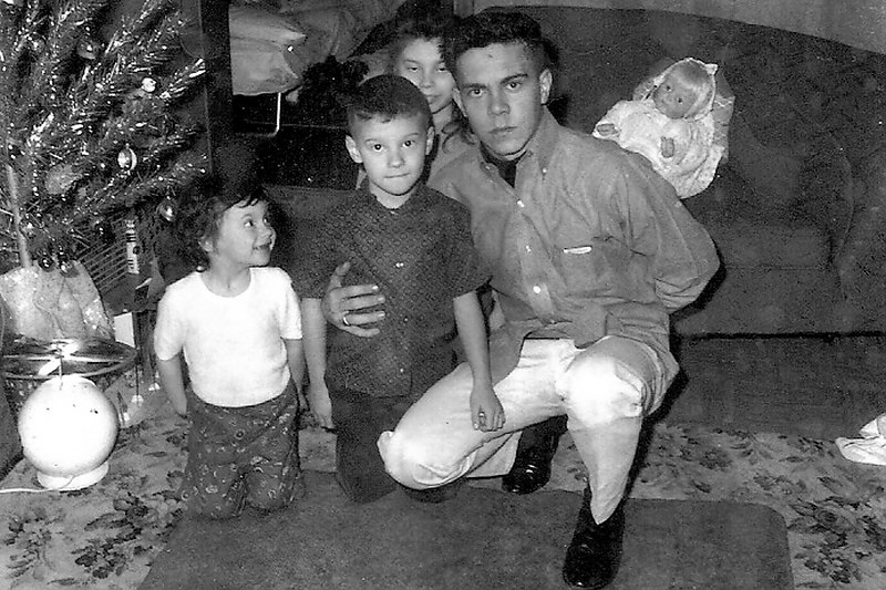 Darla, Jesse, Herb, and Vicky in 1965.