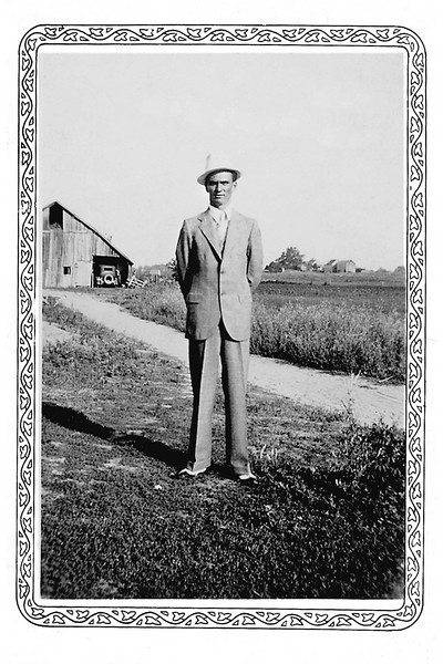 Jesse Millard Myers - July 1936 - location unknown