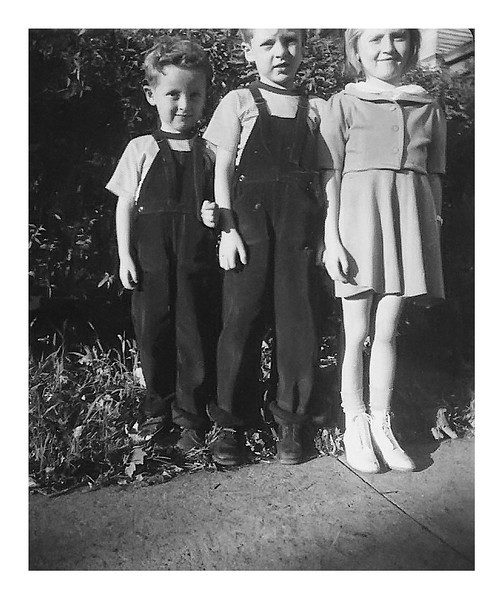 Shirley Ann, Dickie and Bobby Myers