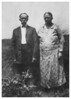Photo says - Uncle Ben and Aunt Mary Proffitt - Hazels father and mother