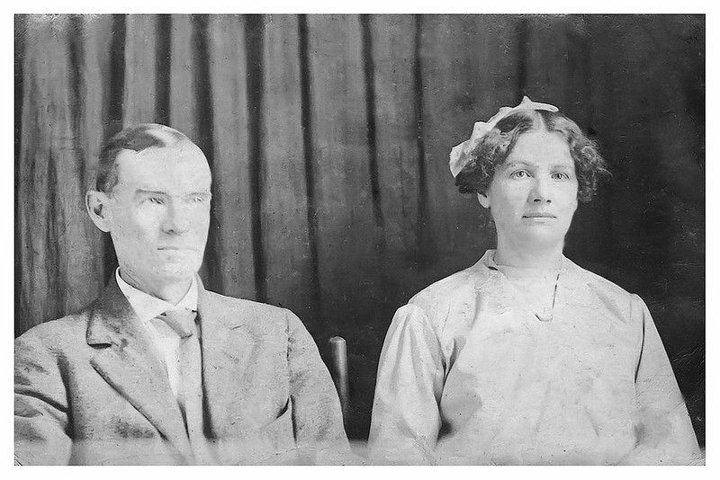 Charles C Carter and Nora Carter - sister of Etta Thomas Proffitt