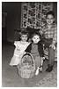 Connie Bradley, Vicky Myers, Leroy Bradley abt 1958