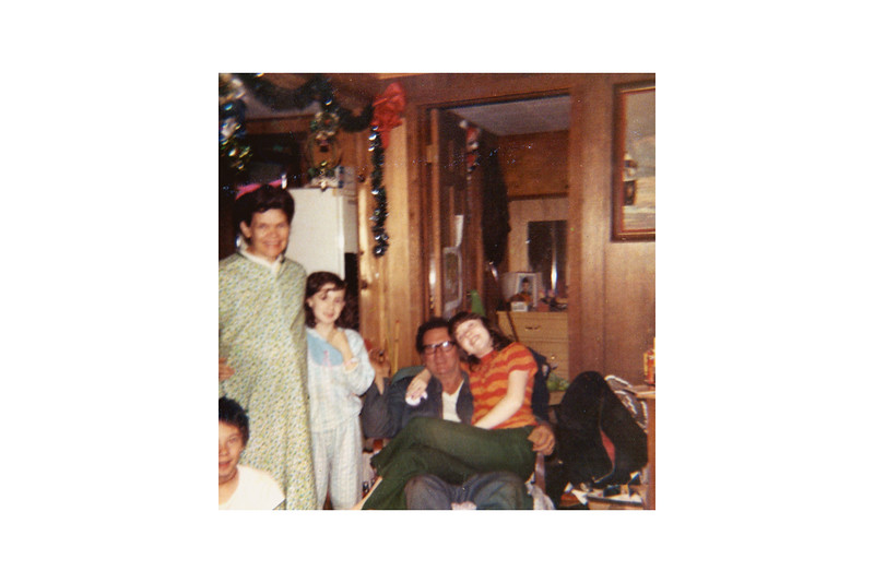 Myers family Christmas 1970