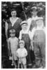 Vernie, Homer, Corrine, Waymond, Glen and Herbert (Sprocket) Proffitt abt 1932