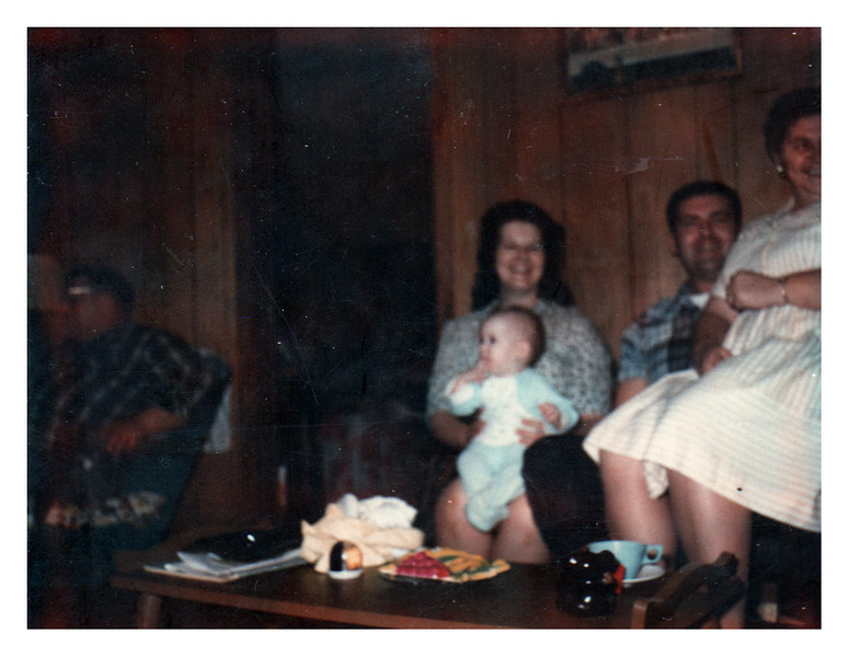 Jim Bradley, Betsy, Kim, Dick Myers and Ruby Myers Bradley