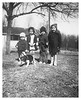 Bobby, Shirley Ann, Dickie Myers and Betsy Ross Myers abt 1944