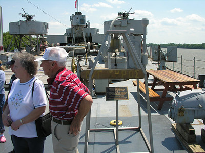 A day in Evansville Indiana visiting LST-325 with Darla's uncle Bud. Bud served on a LST during World War II and continued on as a merchant seaman during the Korean conflict.