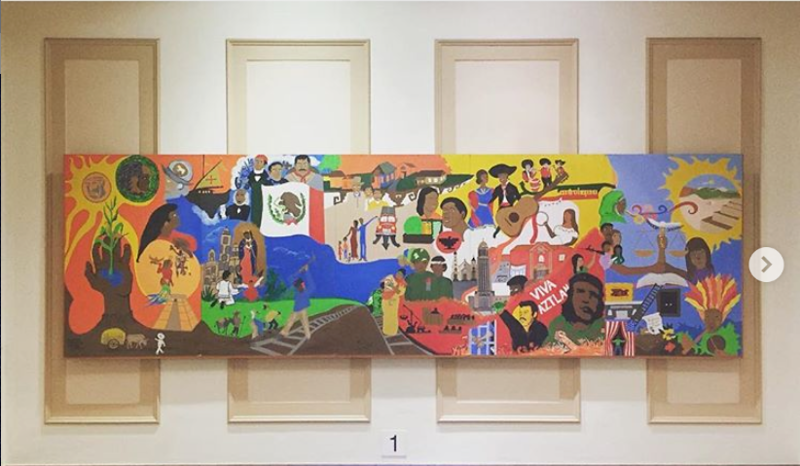 Subbing 2.0 2nd Grade / #muralart #symbolismart #ceilingsofolde #windownomore<br /> Everett Elementary School