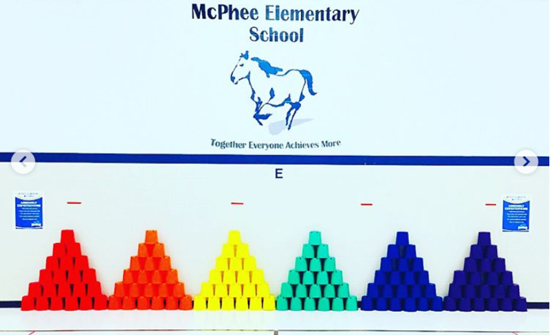 Subbing 2.0 / Mc Phee - Part 1 P.E. #plantimefun #coloroverload #kidslovegymclass<br /> McPhee Elementary School