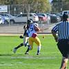 Good open field tackle on interception return