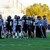 First coin toss of the 2014 season - Hesperia wins & defers to 2nd Half