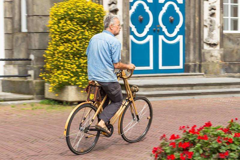 Houten vélocipède