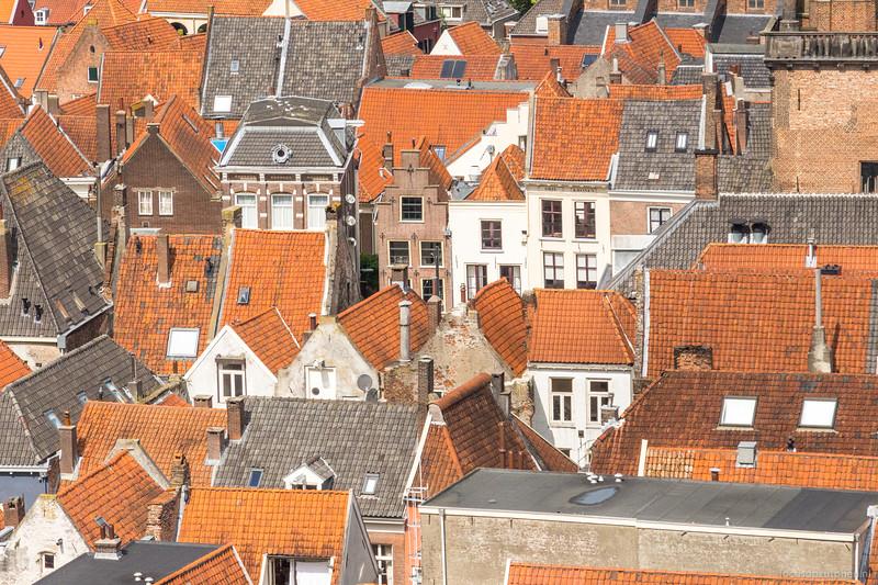 Stad vanaf de Walburgtoren