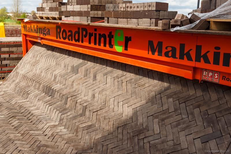 De IJsselkade komt uit de printer