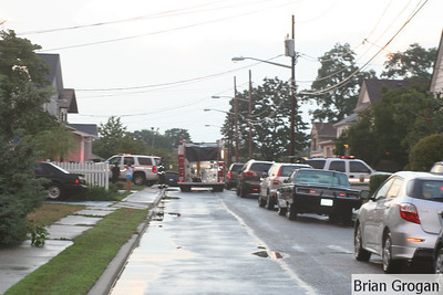 Mansfield Pl Shed Fire 7-19-10